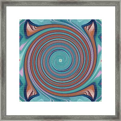 Hope Does Spring Eternal - T J O D 31 Arrangement 1 Swirled Framed Print by Helena Tiainen