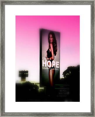Hope For All Single Men Framed Print by Funkpix Photo Hunter