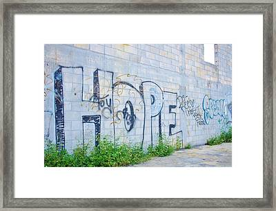 Hope For Paradise Framed Print