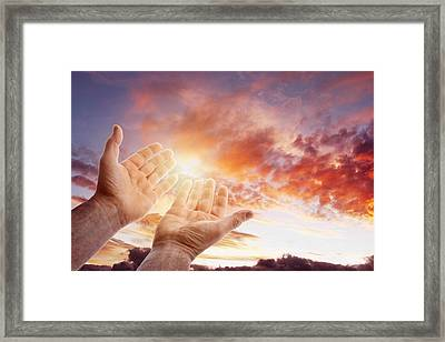 Hope For The Future Framed Print by Les Cunliffe