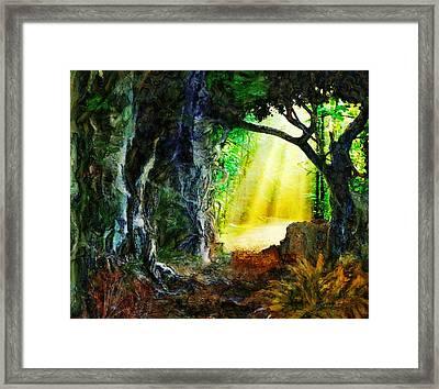 Framed Print featuring the digital art Hope by Francesa Miller