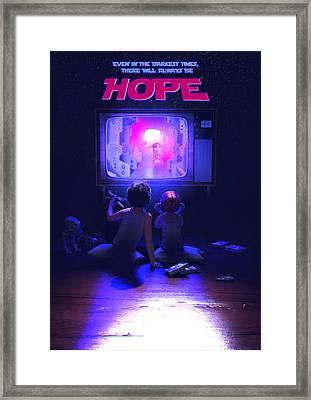 Hope Framed Print by Guillem H Pongiluppi