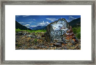 Framed Print featuring the photograph Hope II by John Poon