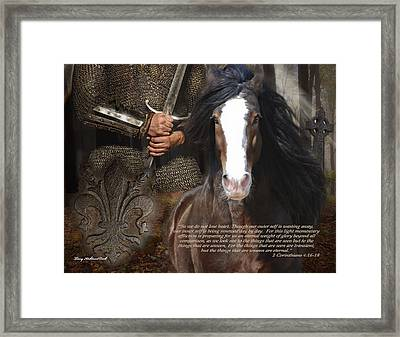 Hope In Corinthians Framed Print