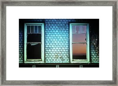 Hope In Decay Framed Print