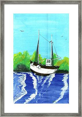 Hope In Dispair Framed Print by Harry Richards