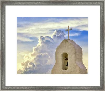 Framed Print featuring the photograph Hope In The Storm by Rick Furmanek