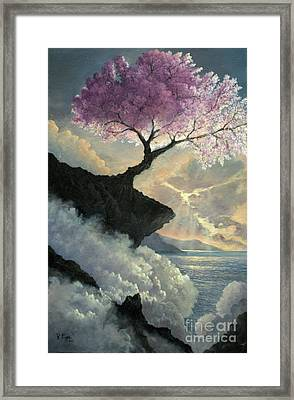 Hope Inclines Framed Print