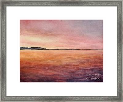 Hope Island Framed Print by Aurora Jenson