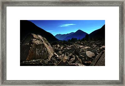 Framed Print featuring the photograph Hope by John Poon