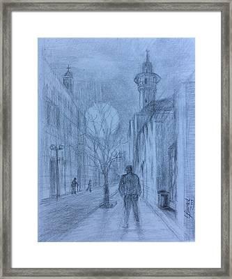 Moon Of Hope Framed Print