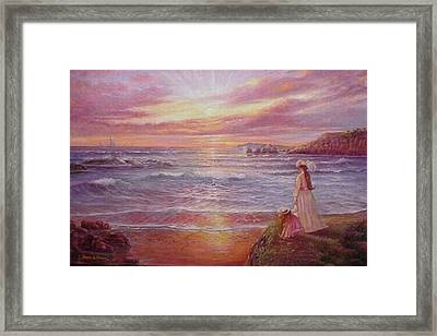 Hope Framed Print by Naomi Dixon