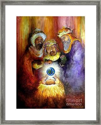 Hope Of The World Framed Print by Deborah Smith