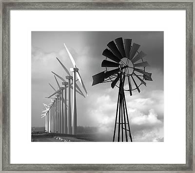 Hope Of Wind .  .  . Framed Print by Daniel Hagerman