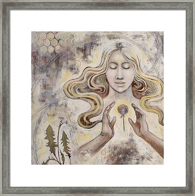 Framed Print featuring the painting Hope by Sheri Howe