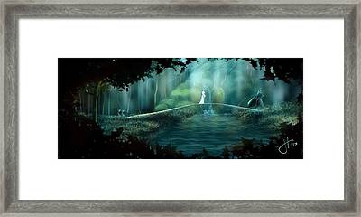 Hope To The Dunedain Framed Print by Jason Hanson
