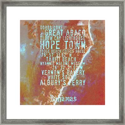 Hope Town Bahamas Life Framed Print by Brandi Fitzgerald