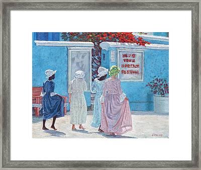 Hope Town Heritage Festival Framed Print