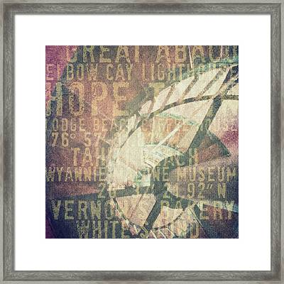Hope Town Living V3 Framed Print by Brandi Fitzgerald