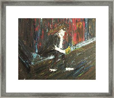 Hopeless Framed Print by Suzanne  Marie Leclair