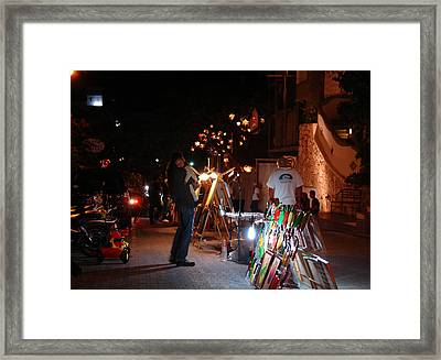 Hopes  Esperanza Framed Print by Angel Ortiz