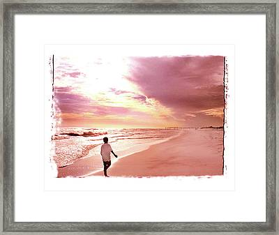 Framed Print featuring the photograph Hope's Horizon by Marie Hicks