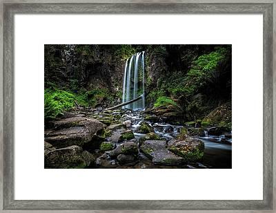 Hopetoun Falls Framed Print by Mark Lucey