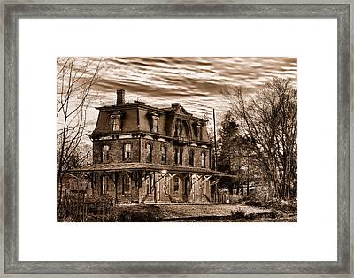 Hopewell Station Framed Print