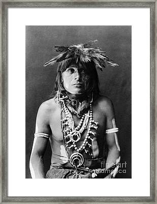 Hopi Chief, C1900 Framed Print