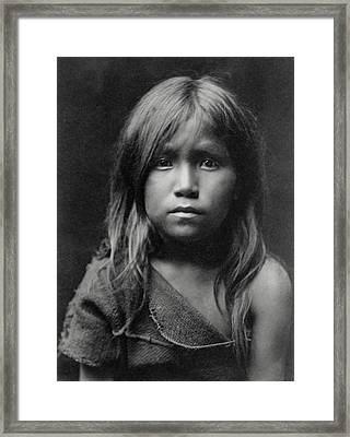 Hopi Indian Girl 1905 Framed Print