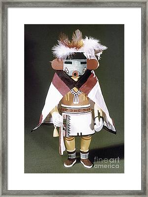 Hopi Kachina Doll Framed Print