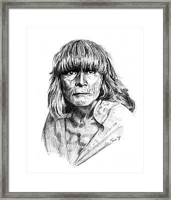 Hopi Man 1921 Framed Print