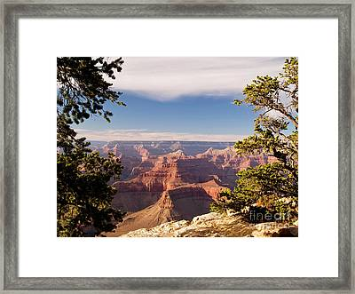 Hopi Point Framed Print by Alex Cassels