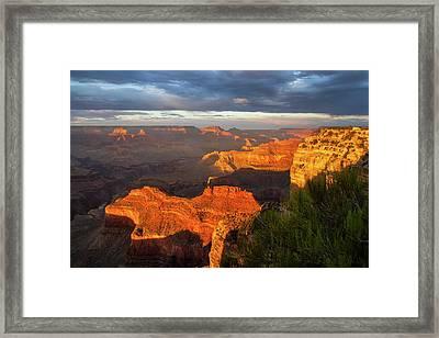 Hopi Point Sunset 1 Framed Print