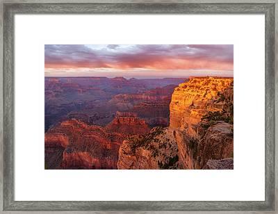 Hopi Point Sunset 3 Framed Print
