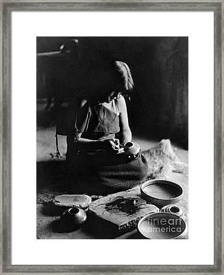 Hopi Potter, C1906 Framed Print by Granger