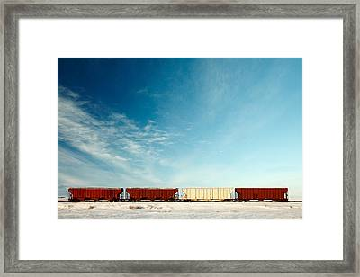 Hoppers Row Framed Print by Todd Klassy