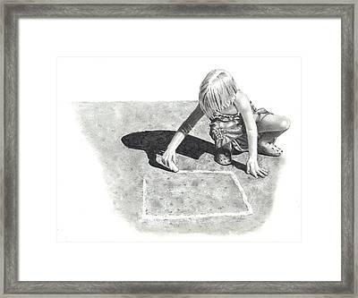 Hopscotch Framed Print by Joyce Geleynse
