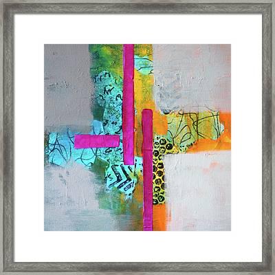 Hopscotch Framed Print