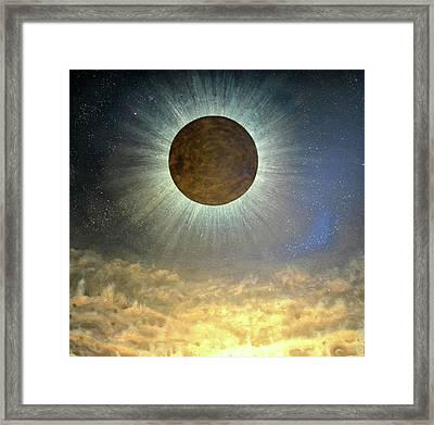 Hordes Of The Lunar Eclipse Framed Print by Drew Spence