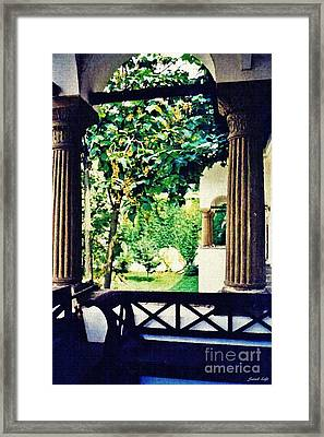 Horezu Monastery Framed Print
