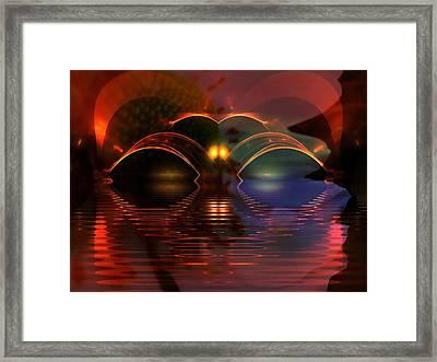 Horizens Framed Print