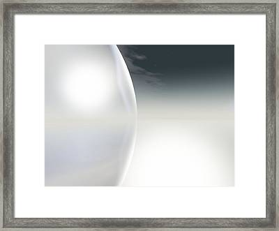 Horizon Framed Print by Frau Stock