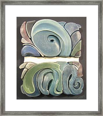 Horizon Framed Print by James Day