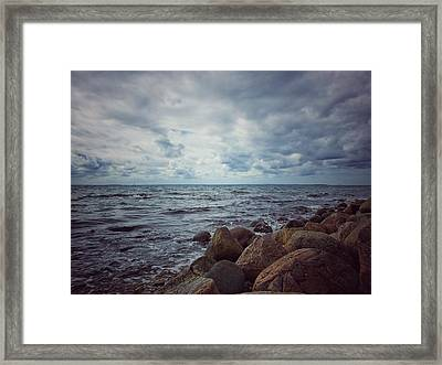 Framed Print featuring the photograph Horizon by Karen Stahlros