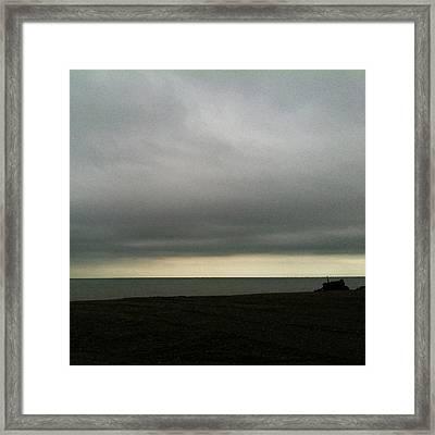 Horizon Light Framed Print
