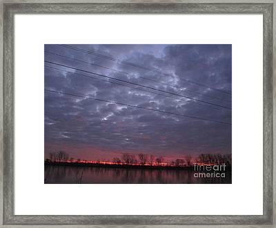 Horizon Framed Print by Susan Parsley