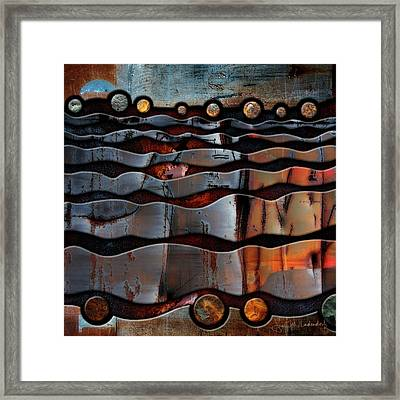 Horizons Framed Print by Joan Ladendorf