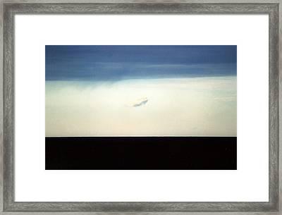 Horizontal Number 20 Framed Print by Sandra Gottlieb