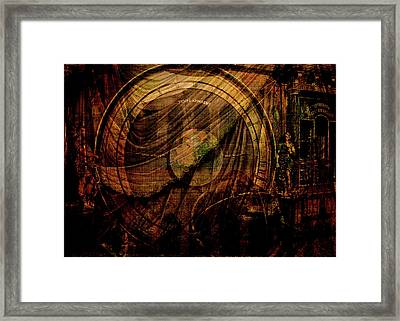 Horloge Astronomique Framed Print by Sarah Vernon